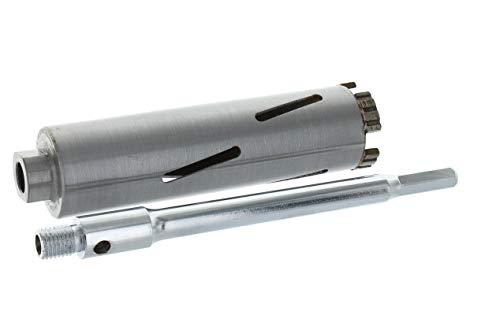 Diamant Bohrkrone Sechskant lang (200mm) Aufnahme Nutzlänge 180 mm Ø 32 mm Betonbohrkrone Kernbohrer