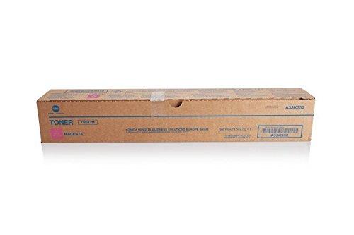 Original Konica Minolta A33K352 / TN-512 M, für Bizhub C 454 Premium Drucker-Kartusche, Magenta, 35000 Seiten