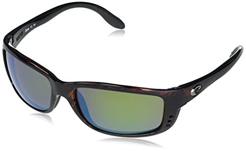 Costa Zane Nylon Frame Green Mirror Lens Men's Sunglasses ZN10OGMGLP