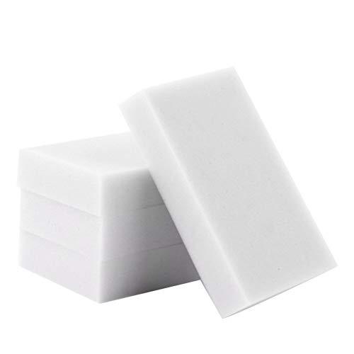 Esponjas mágicas 50 PC / porción del limpiador de la melamina esponja mágica borrador de la esponja del plumero de toallitas for Oficina Cocina Baño Nano esponja de la limpieza Para marcas y quitamanc