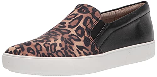 Naturalizer Women's Marianne Sneaker, Brown Black Cheetah, 4.5