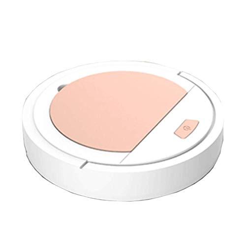 Ausgedehnter Roboter, Vakuum-Mopp und Fegen Intelligent Reiniger Fegen Mini Smart Robotic Haushalt Mopping Automatische Zubehör Filter,Weiß