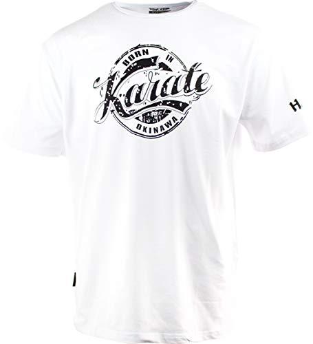 "Hayashi T-Shirt ""Karate"" - Weiss, Gr. XL"