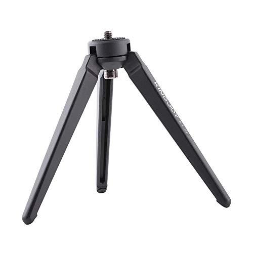 VbestLIFE Mini-camera-telefoonstatief, draagbare desktop, camera fotografie mobiele telefoon vasthouden, 3 kg belastbaar statief met antislip voetsteun, 1/4 camera-schroef voor kleine camera