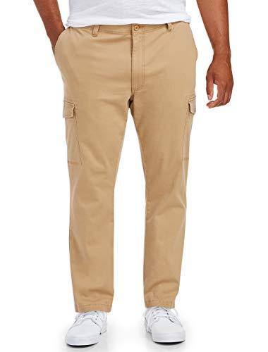 Amazon Essentials Men's Big-Tall Big & Tall Cargo Pant Pants, -Dark Khaki, 46W x 32L