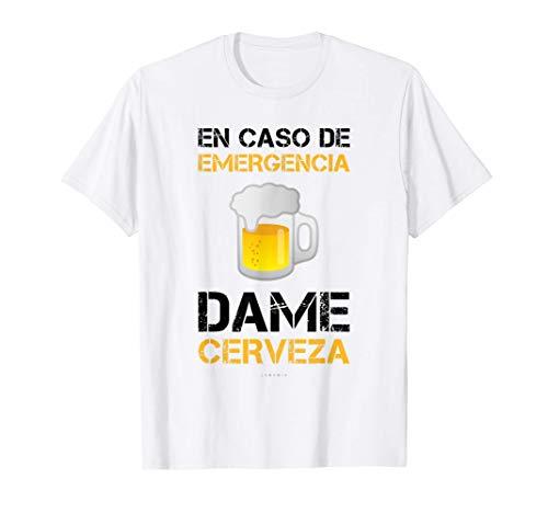 Hombre Dame Cerveza Camiseta Hombre Manga Corta Regalo Divertido Camiseta
