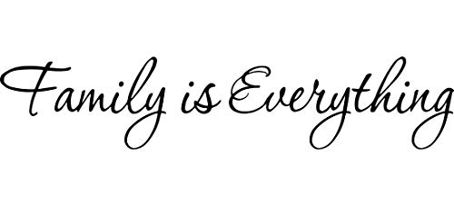 Family is Everything Decals Wall Decal Quotes Home Decor Vinyl Quotes Designs Family Wall Art
