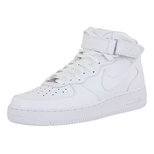 Nike Air Force 1 Mid '07, Sneaker Uomo, White 111, 44.5 EU