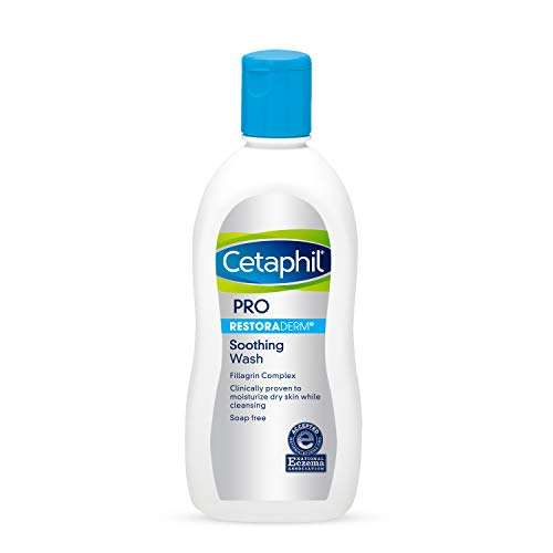 CETAPHIL RESTORADERM Soothing Wash | 10 fl oz | Soothes Dry, Stressed...