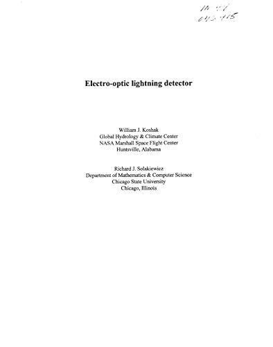 Electro-optic Lightning Detector (English Edition)
