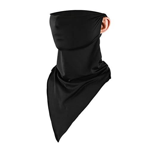 Fanspack Cubierta de La Cara Moda Banda a Prueba de Rayos UV Pañuelo Bufanda Cara Ciclismo Cubierta de La Cara