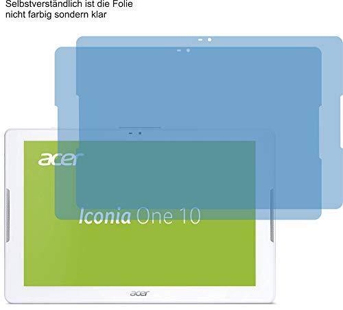 4ProTec I 2X ANTIREFLEX matt Schutzfolie für Acer Iconia One 10 B3-A32 Bildschirmschutzfolie Displayschutzfolie Schutzhülle Bildschirmschutz Bildschirmfolie Folie