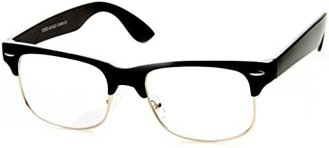 Clear plastic glasses frames _image3