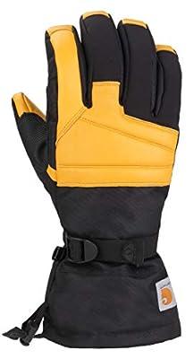 Carhartt Men's Cold Snap Insulated Work Glove, black barley, M