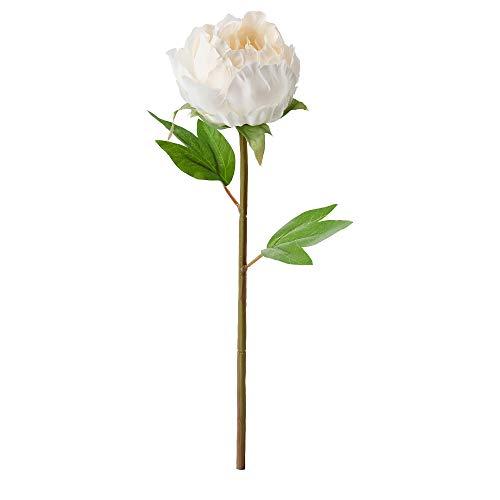 Ikea, weiß, SMYCKA Kunstblume, Pfingstrose, 30 cm