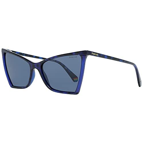 Polaroid Pld 6127/s IPR/C3 HAVANA BLUE 57, Gafas Mujer, Talla única