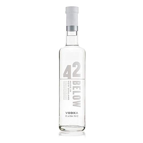 6 Flaschen Below 42 Vodka a 700ml Sparpaket 40% Neuseeland Wodka