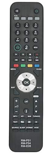ALLIMITY RM-F01 Fernbedienung Ersetzt für Humax Foxsat HDR Freesat Box RM-F01 RMF01