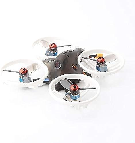 WOSOSYEYO LDARC ET115 5.8G Micro FPV RC Racing Drohne mit 100mW 16CH VTX Kamera OSD 12A BLHELIS Frysky AC900-Empfänger PNP-Version (SchwarzRing)