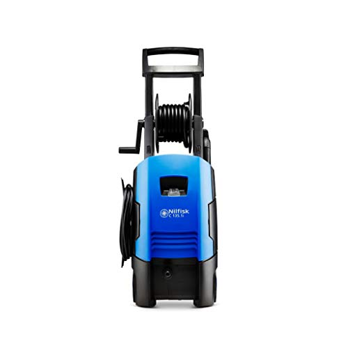 Nilfisk 128471171 Pressure Washer with Induction Motor Compact, 1700 W, 230 V, Blue, LARGE