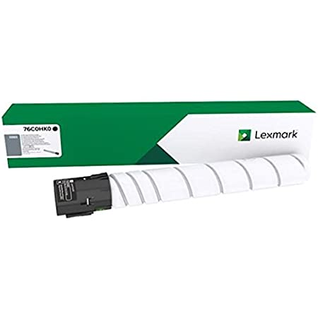 Lexmark 76c0hk0 Original Toner Pack Of 1 Bürobedarf Schreibwaren