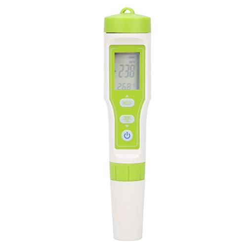Deror Testeur de qualité de l'eau, testeur de conductivité ORP Portable, Stylo de Test de qualité de l'eau avec écran LED pour Aquarium...