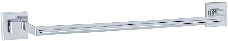 WENKO Vacuum-Loc® badhanddoekstang Uno Quadro roestvrij staal - handdoekrek, handdoekstang, roestvrij staal, 60,5 x 6 x 5 ...