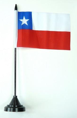 Tischflagge Chile Flagge Fahne 10 x 15 cm FLAGGENMAE® Tischfahne