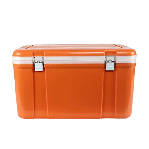 LIYANLCX 33L Passivkühlbox Isolierter Kühler & Wärmer Abnehmbare Heiß- oder Kaltkühlbox Ideal für Privatschlafzimmer Büros Campingwagen