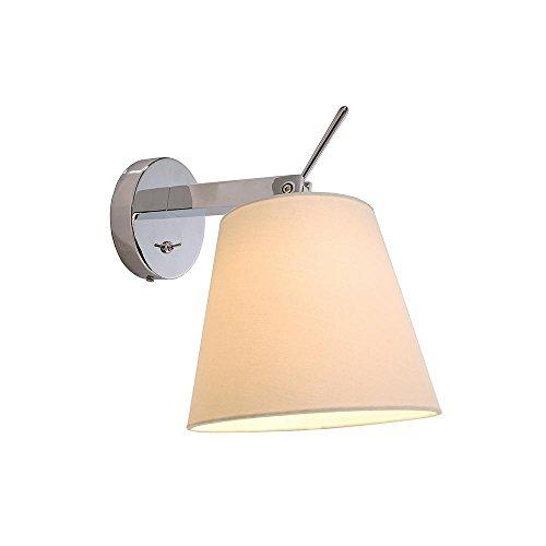 Montage mural Lampe Pixi, 60 W, E27, 220–240 V IP20, blanc classe d'efficacité énergétique : A + + – E