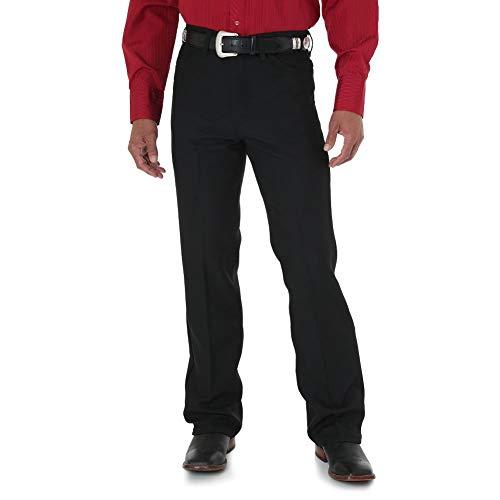 Wrangler Men's Wrancher Dress Jean,Black,32x32