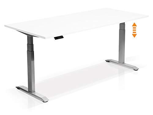 Elektrisch höhenverstellbarer Schreibtisch Office One mit Memory-Steuerung und...