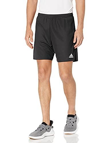 adidas Men's Parma 16 Shorts, Black/White, Medium