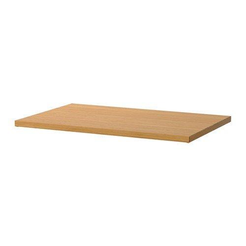 Ikea ELVARLI Regalboden für Aufbewahrungssystem; aus Bambus; (80x51cm)