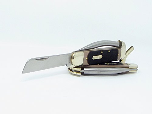 Brand Old Timer Mariner Lever Lock Pocket Knife Clip Point Blade and Marlin Spike for Your Rope Rigging Needs Schrade 7350T