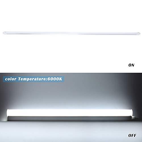 YDBET 24W T8 5Ft LED-Schlauch-Licht 2000Lm Daylight Retrofit Leicht Ersatz für 5Ft 1500mm Fluorescent Tubelights für Indoor Home Office Garage