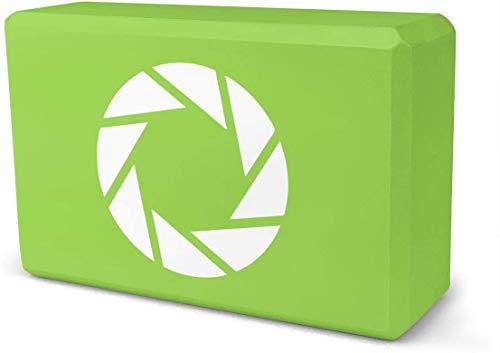 NA Camera Diafragma Sluiter Fotografie Yoga Baksteen | Verkocht als één blok | EVA Foam Blok Accessoires voor Yoga, Meditatie, Pilates, Stretching (9inchesx 6inchesx 3inches)