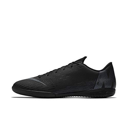 Nike Vapor 12 Academy IC, Zapatillas de Deporte Unisex Adulto, Negro (Black/Black 001), 47.5 EU