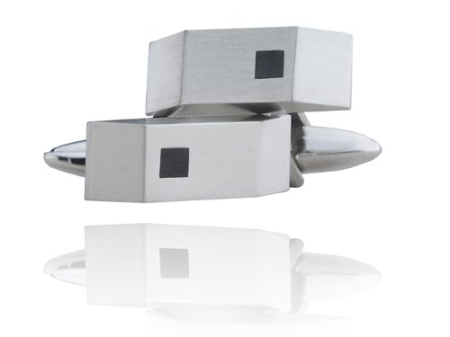 Boutons de manchette en acier inoxydable 316L pour homme männerschmuck- accessoires