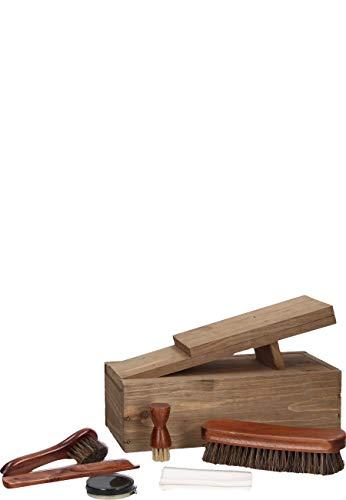 Esschert Design nvv33 Boot Cleaning Kit, Wood