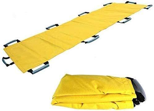BGSFF Tragbare Erste-Hilfe-Weiche Trage, zusammenklappbare Notfall-Rettungstransport-Trage mit 10 Griffen und wasserdichter Aufbewahrungstaschen, Lager 350 Lbs 824