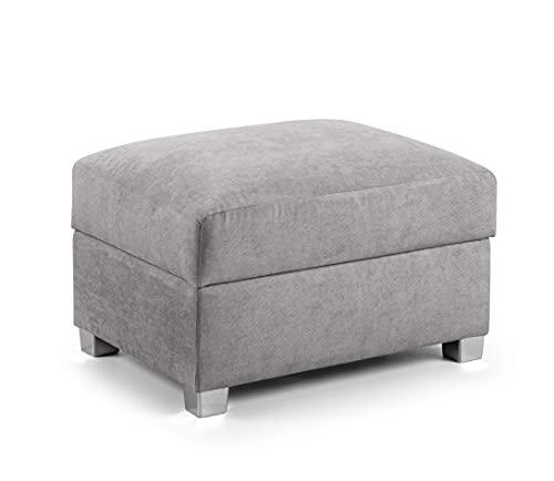 Honeypot - Sofa - Verona - 2C2 Ecksofa - 2C1 Ecksofa - 3-Sitzer Schlafsofa - Grau (Fußhocker)