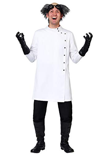 Adult Mad Scientist Costume X-Large White