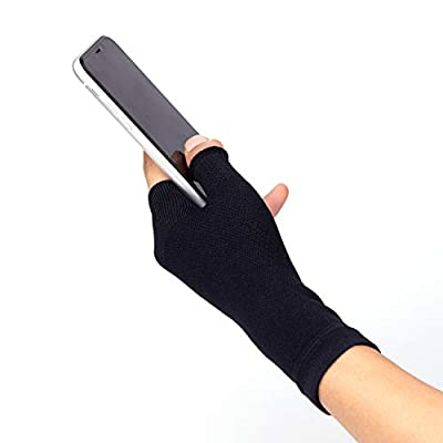 2U2O Wrist and Thumb Support Sleeve - Wrist Hand Brace for Carpel Tunnel, Wrist Pain, Strain, Arthritis, Tendonitis Pain Relief - Multi Zone Compression Sleeve - Improve Circulation, Hand Instability