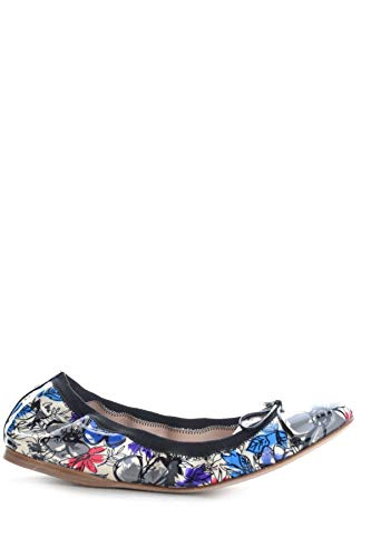Miu Miu Luxury Fashion Damen MCBI15712 Blau Leder Ballerinas | Jahreszeit Outlet