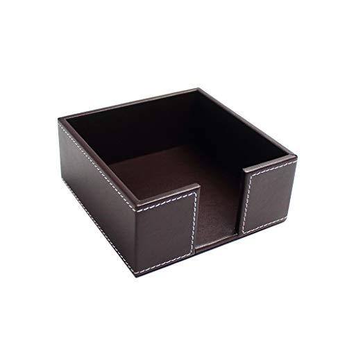 Haorw Serviettenhalter Aus Leder - Serviettenständer Für Tisch Oder Küchentheke,für 13x13cm Servietten