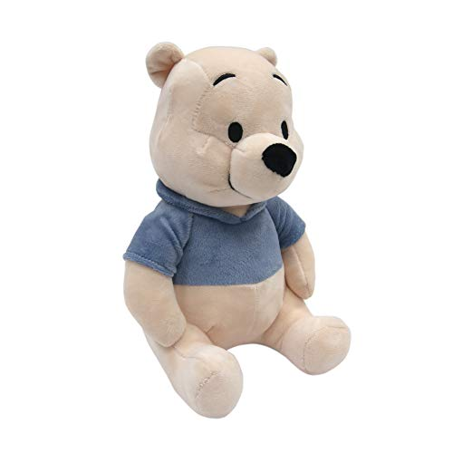 Lambs & Ivy Disney Baby Forever Pooh Bear Plush, Beige/Blue