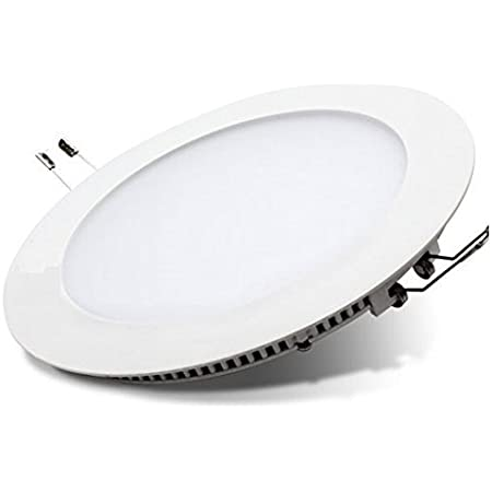 6-24W Ultra Slim RGB LED Recessed Light Flat Panel Ceiling Downlight Round UK