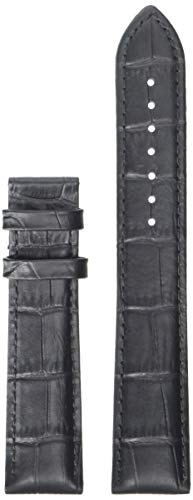 Tissot Leather Calfskin Black Watch XL Strap, 20mm Width (Model: T610031945)
