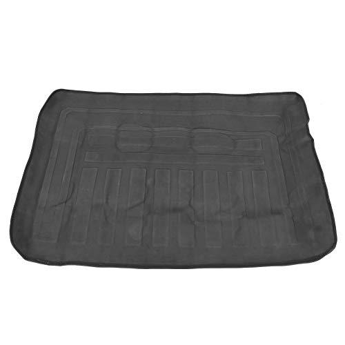 Voluxe Auto-Kofferraum-Pad, Auto-Kofferraum-Teppich, PVC für Picknick-Sachen Passend für Mercedes-Benz B-Klasse 2012 Heavy Materials Schwarz